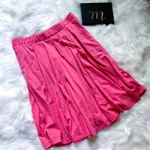 Madison Box Pleated Skirt